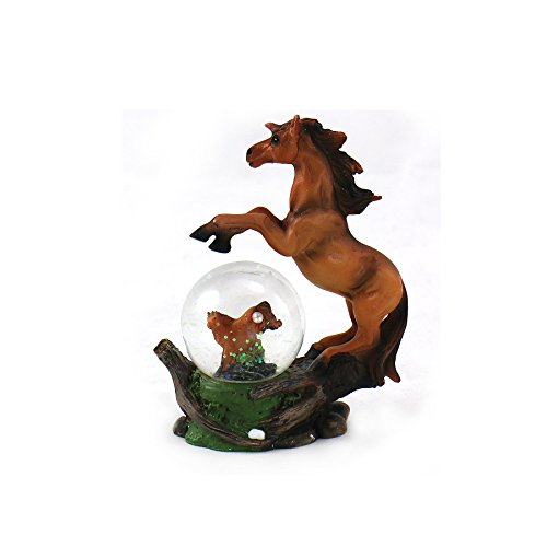 - Animal Wildlife Collection Horse Waterglobe