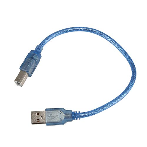 Printer Parts 0.3//0.5//1.5//3//5//10M USB Printer Cable Type A Male to Type B Male USB2.0 Extension Print Cable Color: Black and Colorful