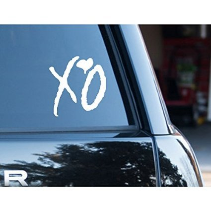 Xo Car Stickers