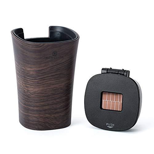 マスクスキルベルベットLEDナイトライト付き自動車灰皿、環境に優しい自動車灰皿灰皿