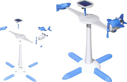 41SngtpIHJL - Edu-Toys 6-in-1 Solar Kit