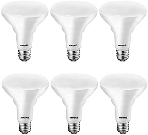 [Energy Star] LED BR30 Flood Light Bulbs Indoor, Daylight 5000K, Dimmable, 65 Watts Recessed Light Bulbs for Cans, 750 Lumens, UL Listed, 6 Pack