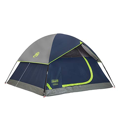 Coleman Sundome 4-Person Tent, Navy