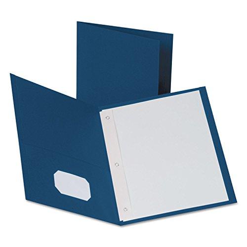 Oxford 57702 Twin Pocket Folders,w/Fstnrs,11
