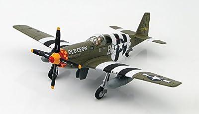 """Col. Bud Andersonn's """"Old Crow,"""" P-51B Mustang, 1:48 Die Cast Model"""