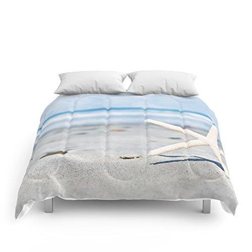 Society6 Starfish By The Seashore Comforters Full: 79