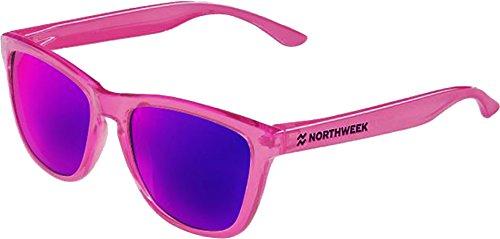 lente sol pink polarizada purple NORTHWEEK de Gafas bright q1xTnZR