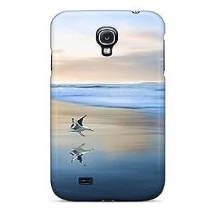 New Curious Tpu Case Cover, Anti-scratch Robearke Phone Case For Galaxy S4