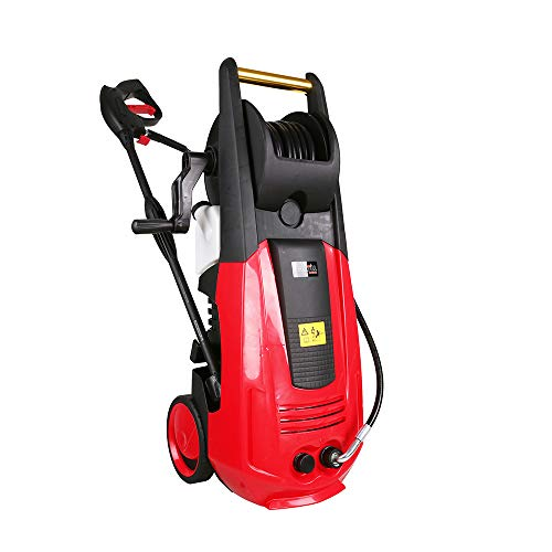 X-BULL 3000PSI 1.6GPM Pressure Washer,Electric Pressure Washer,Red (Red, 3000PSI) (Patio Hire Machine Cleaning)