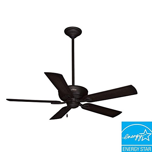 Hunter Caicos 52 in. New Bronze Wet Rated Ceiling Fan (Ceiling Fans Wet Rated compare prices)