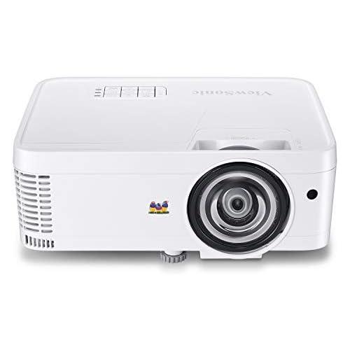 chollos oferta descuentos barato ViewSonic PS501W Proyector portátil 3D 3500 ANSI Lúmenes WXGA 1280 x 800 DLP Blanco