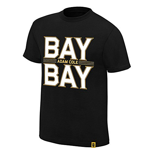 WWE Adam Cole Bay Bay Youth T-Shirt Black Medium by WWE Authentic Wear