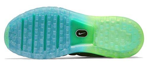 Nike Mens Air Max 2016 Scarpa Da Corsa Nera, Turchese Di Mezzanotte