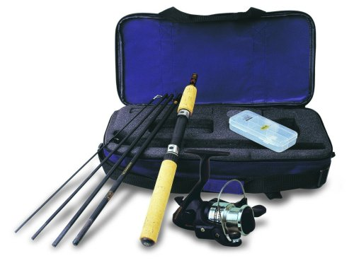 Okuma VS-605-20 Voyager Spinning Travel Kit ()