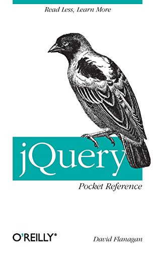 jQuery Pocket Reference: Read Less, Learn More