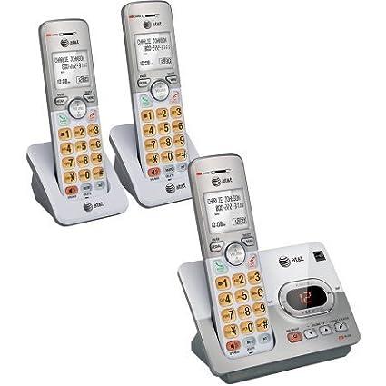 Amazon.com: AT&T EL52203 - Sistema de contestador ...