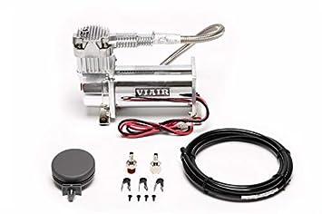 VIAIR 380C - Compresor (cromado, incluye filtro de aire, 12 V): Amazon.es: Coche y moto