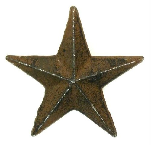 Cast Iron Nail Star - Medium Set of 12-0170S-02112