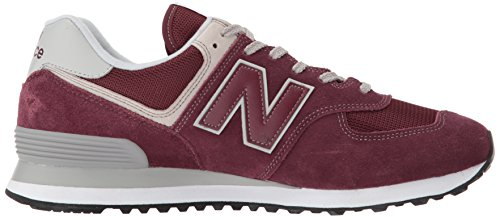 burgundy Balance Rouge Homme New Ml574 Baskets fPBXwa