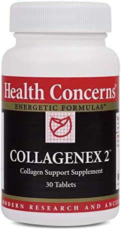 Health Concerns - Collagenex 2 - Collagen Support Supplement - Natural Eggshell Membrane - 30 Tablets