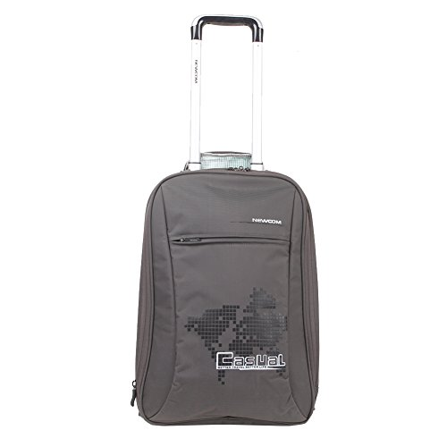 Newcom Classic High Capacity Trolley case,Grey,58.5L by Newcom