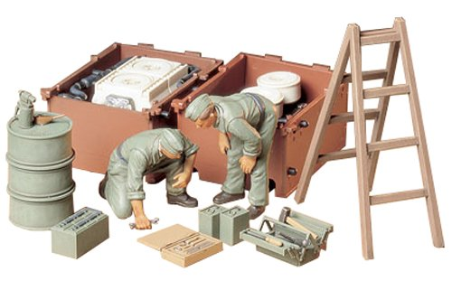 Tamiya Models German Engine Tank Crew Set (Tamiya German Panther)