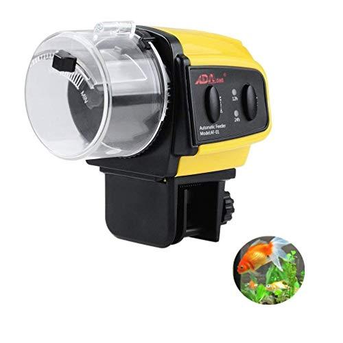 Kuiji Electric Aquarium Automatic Fish Feeder, Auto Fish Food Dispenser for Fish Tank ()