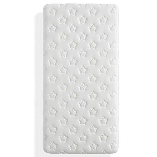 Ecus Kids - Colchón de Cuna Mimo 2.0 Visco Descanso Protector (60 x 120 cm.) blanco: Amazon.es: Bebé