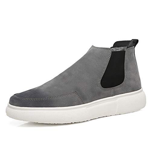 Jialun shoes Para Gris De Hombre Botas Papel rrIZwqx6dF