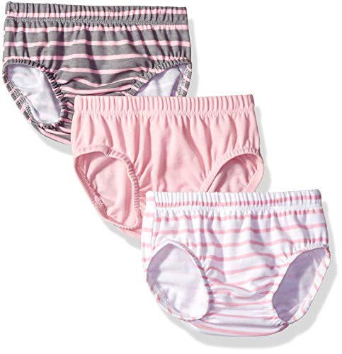 Hanes Ultimate Baby Flexy 3 Pack Diaper Covers, Pink Stripe, 0-6 Months from Hanes