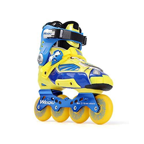 底予算うがいailj インラインスケート、スケート、大人の男の子、ローラースケート、プロの多目的スケート(3色) (色 : Green, サイズ さいず : EU 36/US 4.5/UK 3.5/JP 23cm)