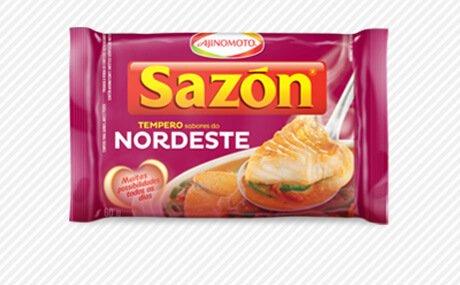 Ajinomoto Seasoning | Sazon Sabores do Nordeste - 60gr 2.11oz (4 Pack)