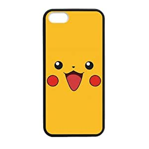 iPhone 5 Case, [Pokemon] iPhone 5,5s Case Custom Durable Case Cover for iPhone5 TPU case(Laser Technology) by mcsharks