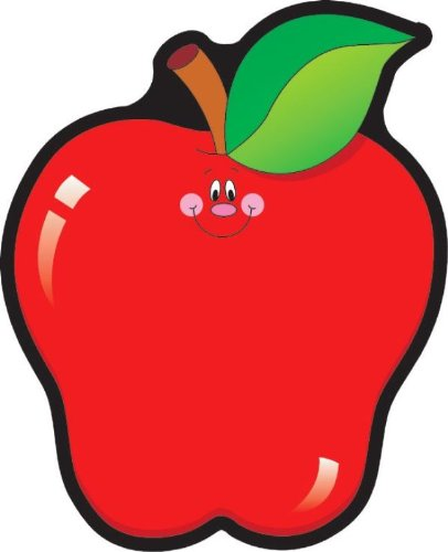 - COLORFUL CUT-OUTS APPLES 36/PK