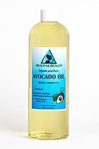 Avocado Oil Refined Organic Cold Pressed Premium Fresh 100% Pure 16 oz