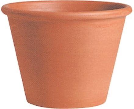 イタリア製 テラコッタ鉢 バッサム 25cm(24) 6個入り 植木鉢