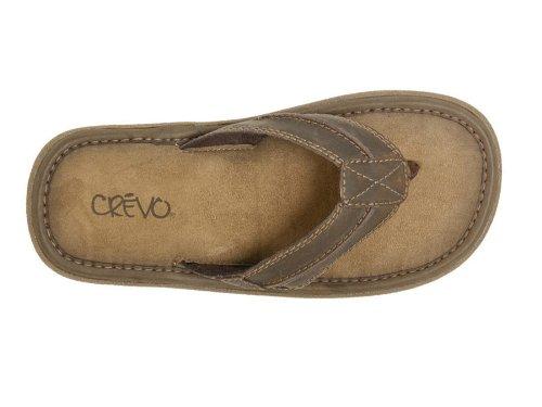 Crevo Mens Diego Casual Shoes Dark Brown j4IEyz