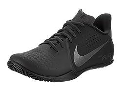 Nike Mens Air Behold Low NBK Basketball Shoe Anthracite/Metallic Dark Grey-Black 10.5