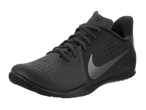 Nike Mens Air Behold Low NBK Basketball Shoe Anthracite/Metallic Dark Grey-Black 9.5