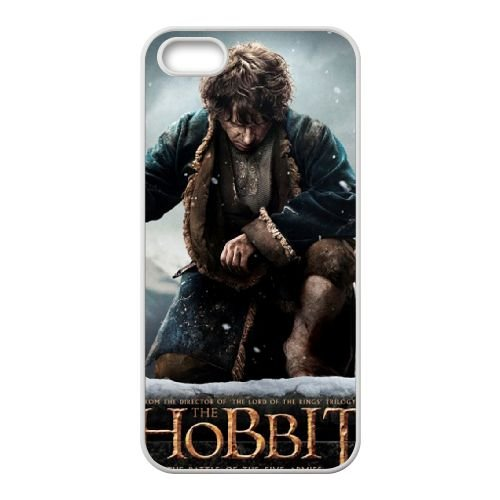 The Hobbit The Battle Of The Five Armies 1 coque iPhone 4 4S cellulaire cas coque de téléphone cas blanche couverture de téléphone portable EOKXLLNCD20114
