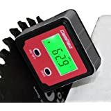 GemRed 82412 Digital Level Box Protractor Angle Finder Level Gauge Bevel Gage Inclinometer with Backlight and Magnetic Base (82412 Angle gauge)