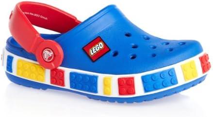 TM blau-rot Crocs Damen-Herren-Sport-Freizeit-Clog-Schuhe Crocband