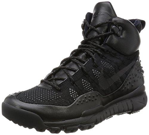 Nike Mens Lupinek Flyknit Nero / Nero-antracite 862505-002 Scarpa