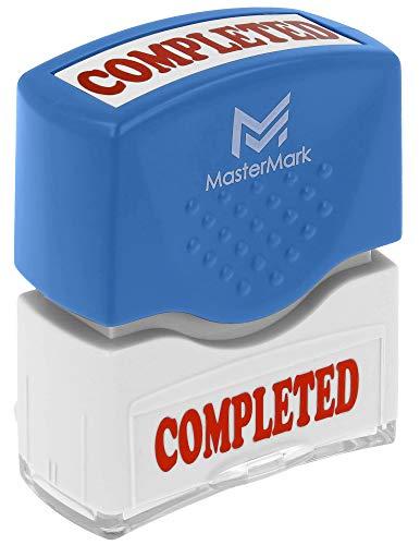 (Completed Stamp - MasterMark Premium Pre-Inked Office Stamp)