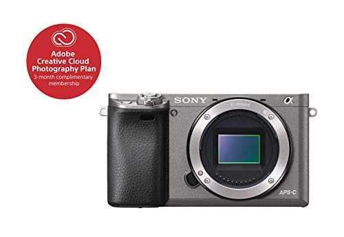 Sony Alpha a6000 Mirrorless Digital Camera 24.3MP SLR Camera with 3.0-Inch LCD – Body Only (Graphite) Review