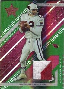 - 2004 Leaf Rookies and Stars Longevity Materials Emerald #3 Josh McCown Jersey /35
