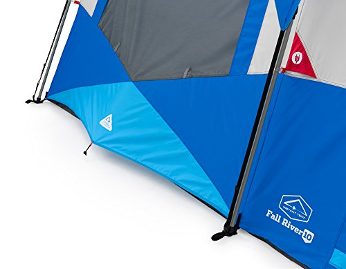 Columbia Sportswear Fall River 10 Person Instant Dome Tent (Compass Blue)