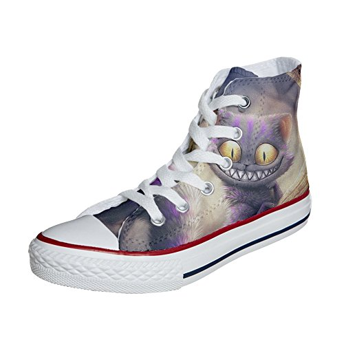 de Ojos Gato Producto Unisex Personalizados Zapatos All Artesano Converse Star wnBR8acqw
