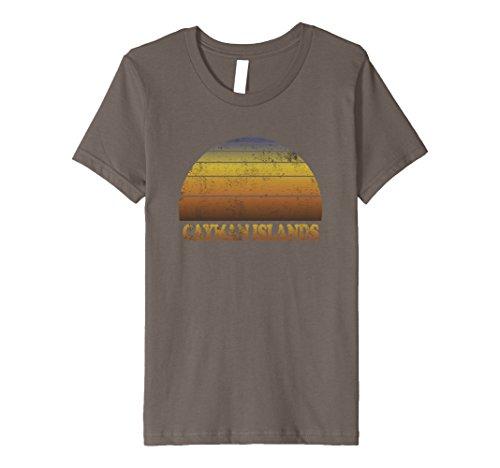 Kids Cayman Islands T Shirt Caribbean Clothes Adult Teen Kids Fun 8 Asphalt