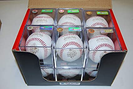 Rawlings Dozen ROMLBOD15 Opening Day Major League Official ROMLB Baseball w//Cube